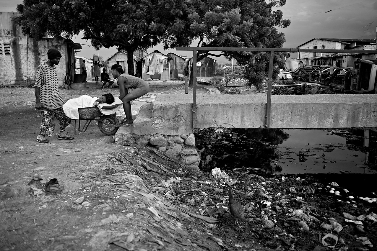 Cholera in Haiti-002